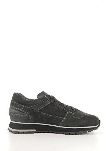 SANTONI Uomo Scarpe Sneaker Grigio Articolo MBVV14394GN1DHHTG62 F A15 Taglia 5