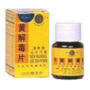 Niu Huang Jie Du Pian (20 comprimés par