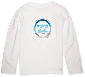 Billabong Format T-Shirt manches longues garçon Blanc FR : 8 ans (Taille Fabricant : 8)