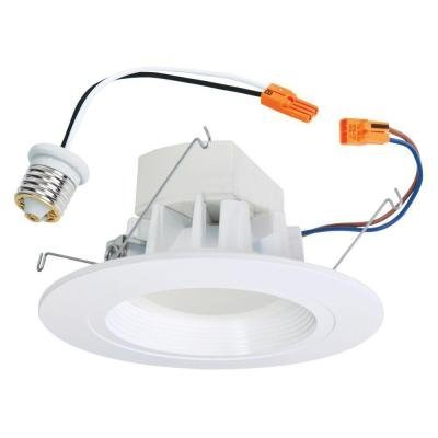 Halo LED Retrofit Baffle with Trim