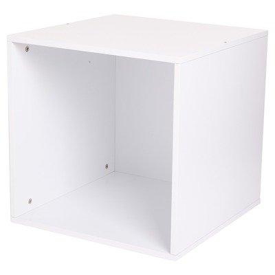 JoJo Maman Bebe Practical Storage Cube, White - 1