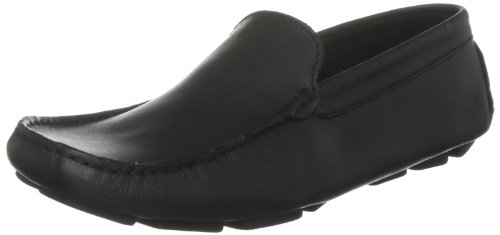 Brand X Men's Driving Mocc Black Driving Shoe AM23011 10 UK