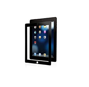 Moshi iVisor Screen Protector AG Anti-Glare/Matte for The New iPad / iPad 2 3 - Black (Newest Model)