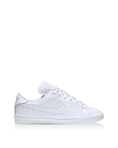 Nike Zapatillas Tennis Classic Prm (Gs) Blanco