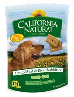 California Natural HealthBar Lamb Meal & Rice