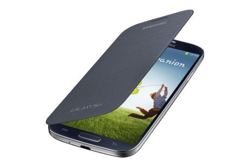 Samsung Galaxy S4 Flip Cover Folio Case (Black) (Galaxy 4s Cover compare prices)