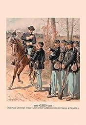 30 x 20 Canvas. Campaign Uniform, Field, Line & Non-Commissioned Officers & Privates
