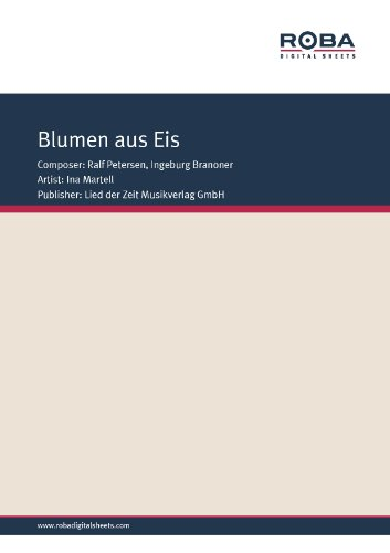 blumen-aus-eis-single-songbook-as-performed-by-ina-martell-german-edition