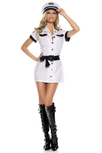 All Aboard Pilot Sexy Costume