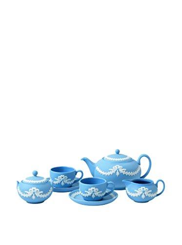Wedgwood Miniature Tea Set, Blue