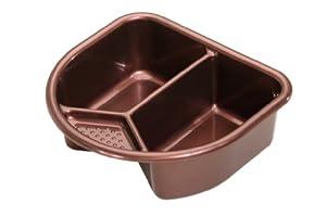 Rotho 200060137 Top - Palangana (2 compartimentos), color marrón de Rotho en BebeHogar.com