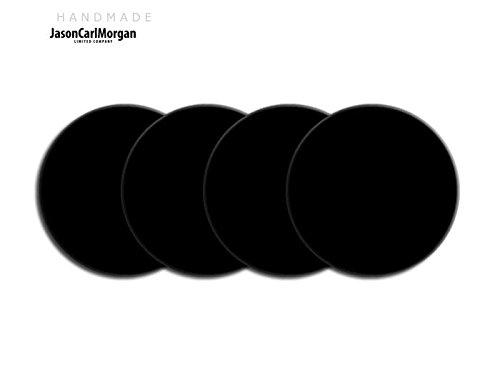Telecommande JCM Jante en alliage Bouchon Badges pour SAAB FORD BMW (CLR 60 mm Noir