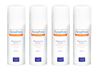 AcneFree Acnefree Renewing Toner Pack of Four (4 X 4 Oz = 16 Oz)
