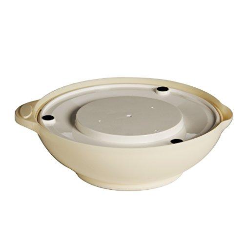 Premier Housewares Balance de cuisine ronde avec bol Crème 3 kg