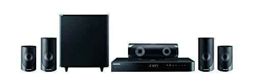 SAMSUNG HT-J5500 5.1 Channel 5 Speaker 3D Blu-ray & DVD Home Theatre System 1000W Black - (TV & Audio > Home Cinema Audio)