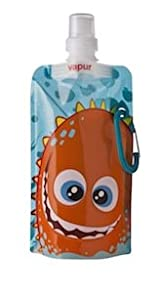 Design Your Own Quencher Vapur Anti-Bottle For Kids, 0.4L, Splash. Made in USA.
