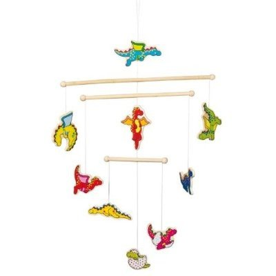 Baby Dragons Wooden Ceiling MobileBaby Dragons Wooden Ceiling Mobile