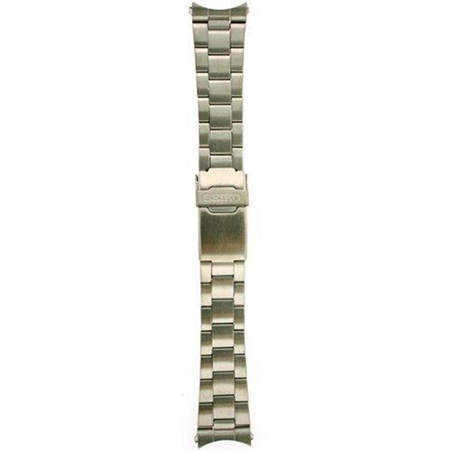 Seiko Original Stainless Steel Watch Band 22mm and Genuine Seiko Spring Bars