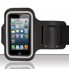 Shopaholic Black Sports Armband Case For iPhone 6