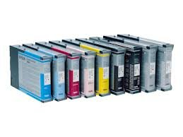 Epson Compatible Stylus Pro 7600/9600 Dye Inkjet Combo Pack (110Ml) (Pb/C/M/Y/Lc/Lm) (T5455Mp)