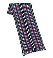 Pure Wool Multi-Striped Scarf