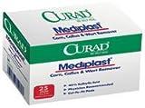 31WpgaVmeXL. SL160  CUR01496 Pad Mediplast Cut To Fit Latex Salicylic Acid 40% 2x3 25 Per Box Part No. CUR01496 by  Medline Industries Inc