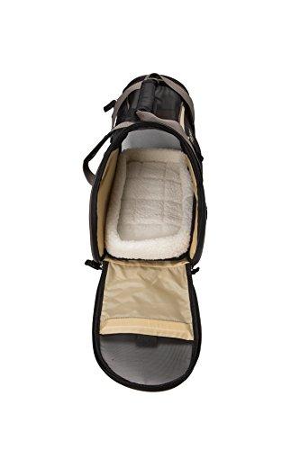 Bergan Comfort Carrier, Small, Black