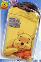 Disney Winnie the Pooh Cell Phone Camera Mp3 Pouch with Drawstring