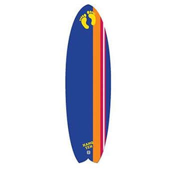 EPS Foam, Surlyn, Wood Hang Ten Soft Top Surfboard, Dark blue (Ocean And Earth Roof Rack compare prices)