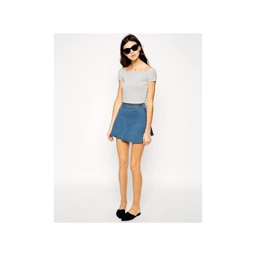 Dr Denim Denim Flippy Skirt 並行輸入品