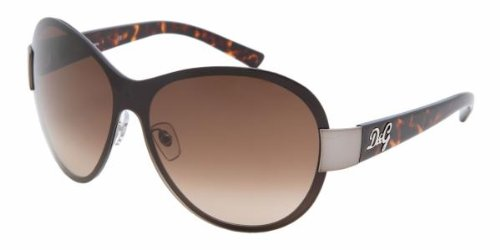 Authentic D&G Sunglasses 6054 GUNMETAL / BROWN GRADIENT 09013