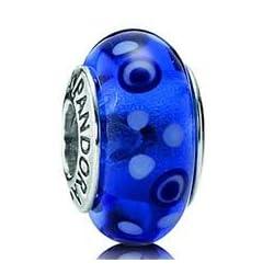 Pandora 790695 Blue Bubbles Charm