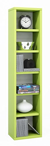 VCM-Anbauprogramm-Elementa-DVD-CD-Regal-Rack-Mbel-Grn
