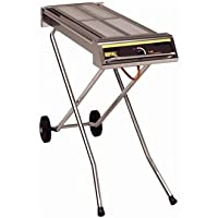Buffalo Folding Gas Barbecue on Wheels
