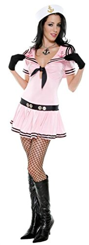 Forplay Womens Sassy Sailor Navy Nautical Marine Outfit Fancy Dress Sexy Costume