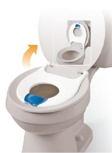 Mommy's Helper Elongated Flip N Flush Flip-up Toddler Potty Training,toilet Seat