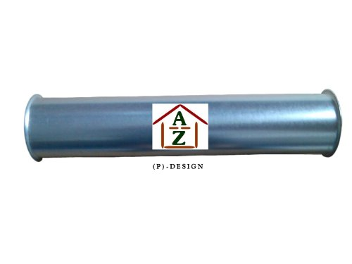 Pellet Rohr gerade NW 100 Länge 500 mm Stahl verzinkt