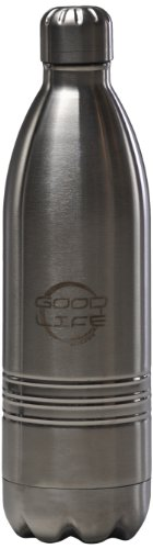 Goodlife Stainless Steel Water Bottle (700-Ml, Stainless) front-814614