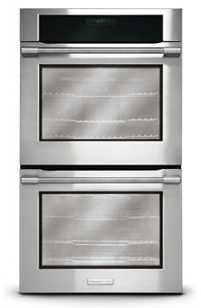 "Electrolux E30Ew85Gps 30"" Double Wall Oven With Smooth-Glide® Oven Racks And Wave-Touch® Controls, Stainless Steel front-39140"