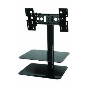 Brand New Avf Mounts Tilt And Swivel Adjustable Multi-Position Tv Wallmount For Lcd Led Plasma Tv Hdtv (Vesa Up To 400X400, 25 - 40 Inch Screen) - Includes 2 Av Shelves