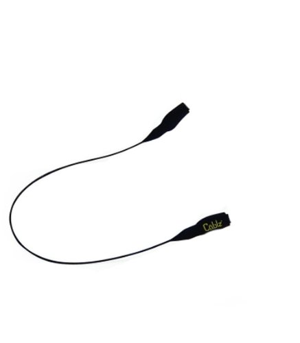 Cablz  Original Eyewear Retainer, Black, 14-Inch/X-Large