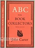 ABC for book collectors (0246105712) by Carter, John