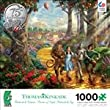 Thomas Kinkade - Follow the Yellow Brick Road - Wizard of Oz - 1000 Piece Jigsaw Puzzle