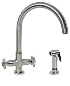 Amazon Hamat 3 3954ST Deco T Kitchen Faucet w Side