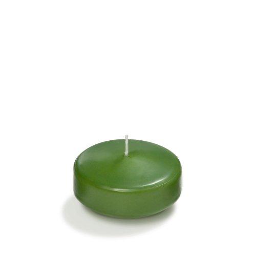 "Yummi 3"" Green Tea Floating Candles - 3 Per Pack"