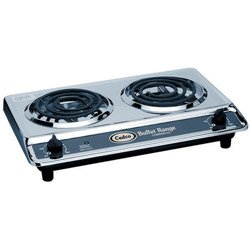 Double Burner Light Duty Buffet Range, 120 Volts (15-0076) Category: Portable Stoves