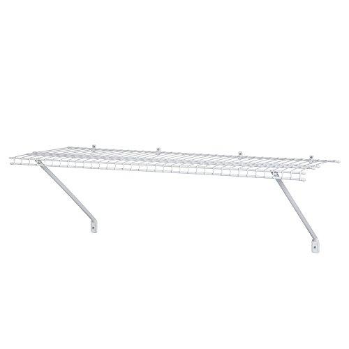 ClosetMaid 51041 Prepack Wire Shelf Kit, 4-Feet