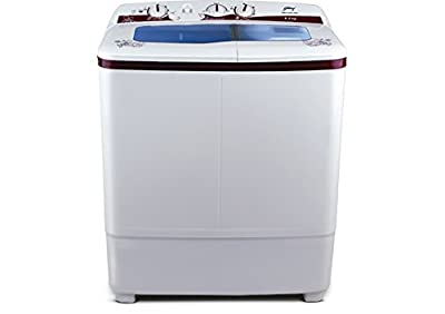 Godrej GWS6204PPD Semi-Automatic Top-loading Washing Machine (6.2 Kg, Wine Red)