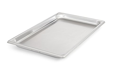 Vollrath 30012 Super Pan V Full Size Anti-Jam Stainless Steel Steam Table / Hotel Pan, 1-1/4