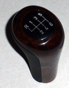 BMW OEM Leather & Walnut Wood Manual 6 Speed Shift Knob E38 7 E39 5 E53 X5 New (Bmw Wood Shift Knob compare prices)